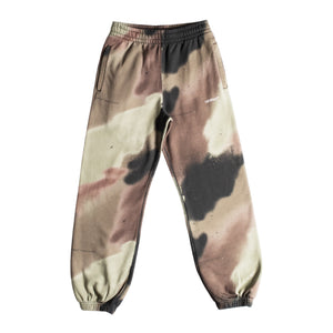 OFF-WHITE CAMO STENCIL SHORTEN SWEATPANT GREEN