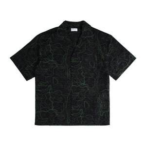 JOHN ELLIOTT CAMP SHIRT BLACK
