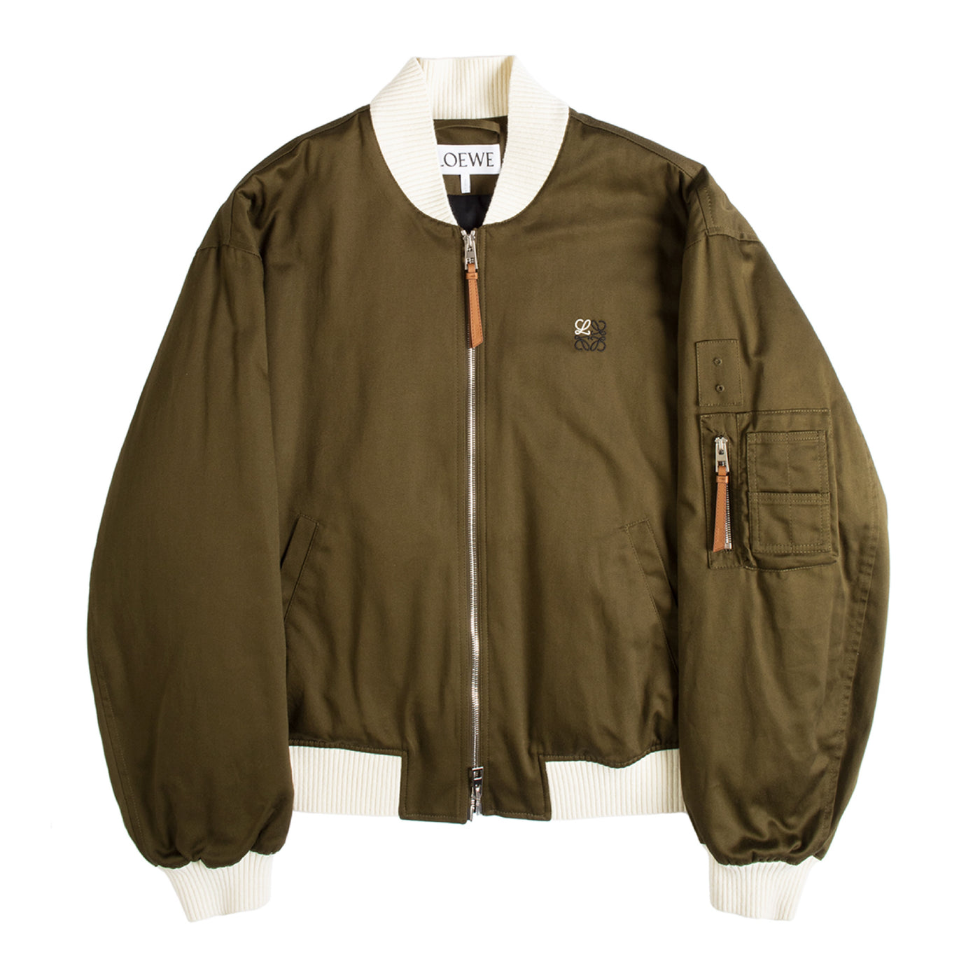 Load image into Gallery viewer, LOEWE BOMBER JACKET GREEN