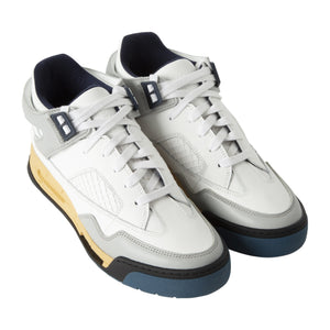 MAISON MARTIN MARGIELA HIGH-TOP SNEAKERS WHITE