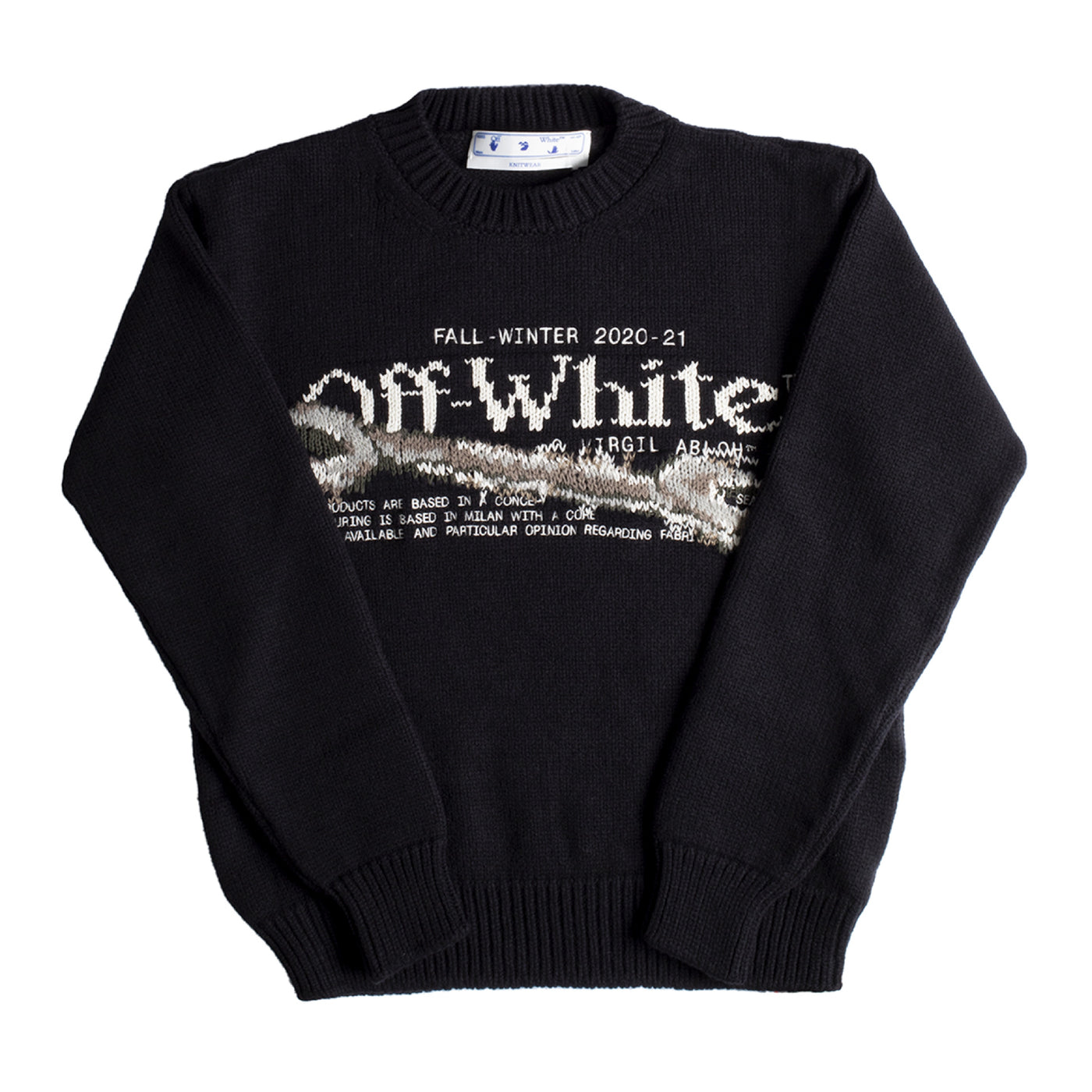 Load image into Gallery viewer, OFF-WHITE PASCAL TOOL CREWNECK BLACK