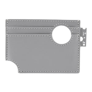 OFF-WHITE METEOR CARDHOLDER GREY