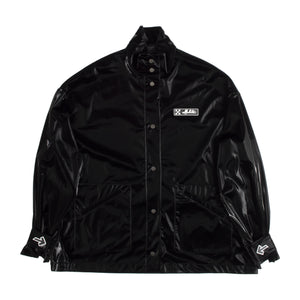 OFF WHITE TRACK COAT BLACK