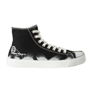MAISON MARTIN MARGIELA HIGH-TOP SNEAKERS BLACK