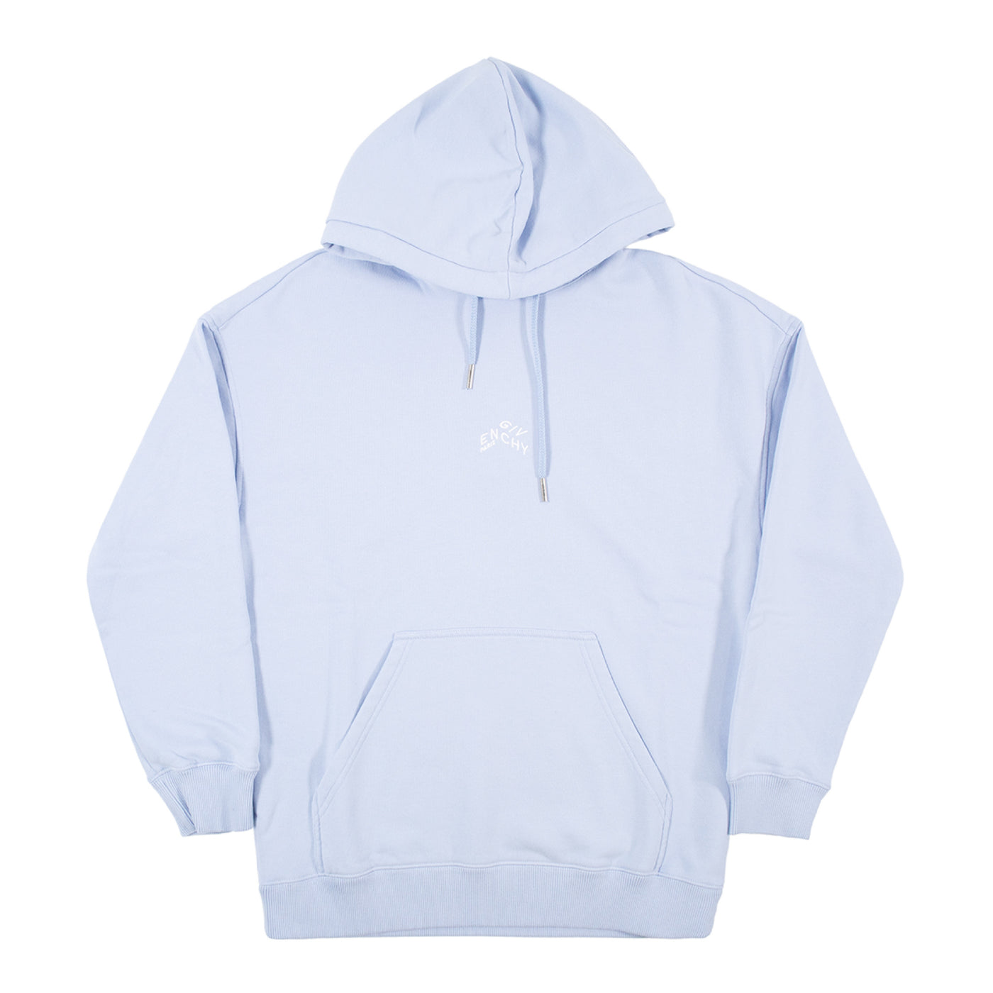 Load image into Gallery viewer, GIVENCHY REGULAR FIT MINI REFRACTED EMBROIDERED HOODIE BLUE
