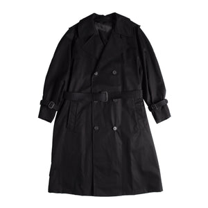 WARDROBE.NYC TRENCH COAT BLACK