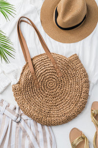 Summer Time Woven Bag