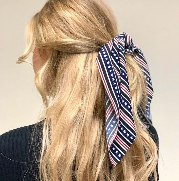 Stars and Stripes Scrunchie Scarf