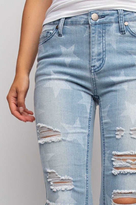 Easel Star Jeans