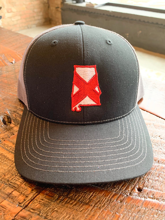 Cam's Cottons Alabama Flag Trucker Hat