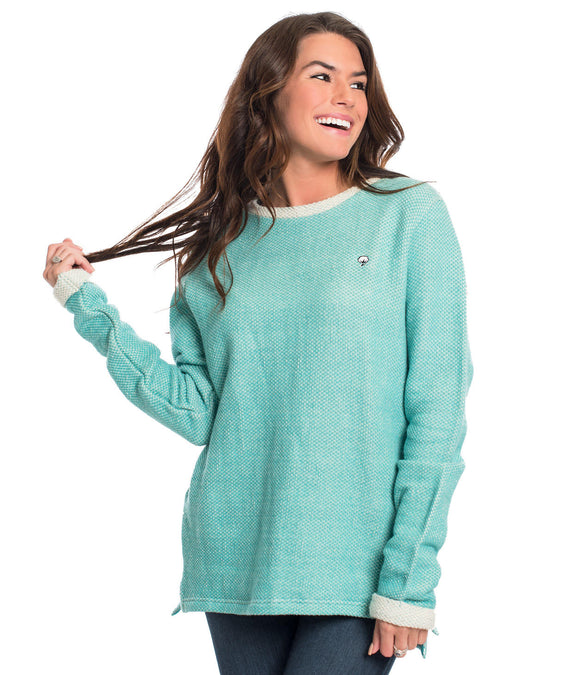 SSCO Arrow Stitch Pullover