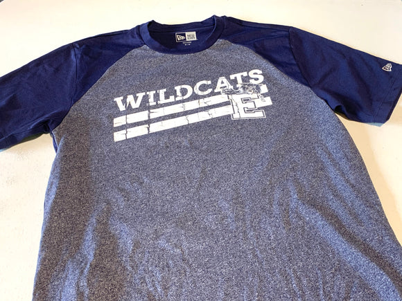 Distressed Enterprise Wildcat Performance Tee