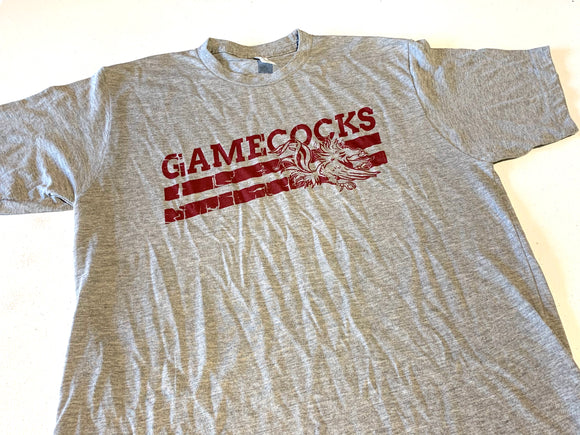 Distressed New Brockton Gamecocks Tee