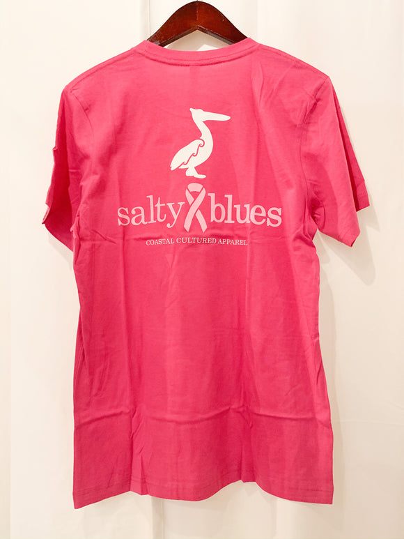 Salty Blue Breast Cancer Awareness
