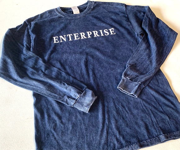 Enterprise Acid Wash Long Sleeve