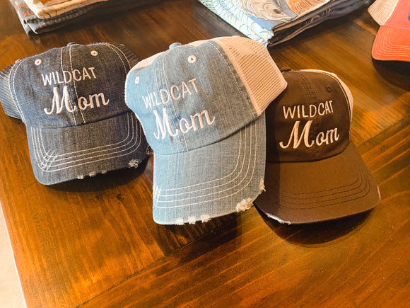 Wildcat Mom Hat