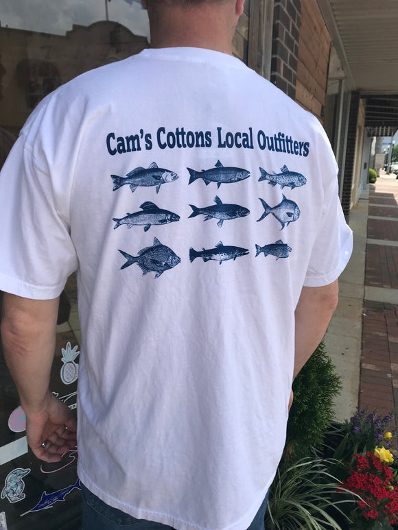 Cam's Cottons Local Fish Shirt