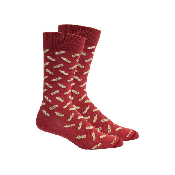 Brown Dog Peanuts Socks
