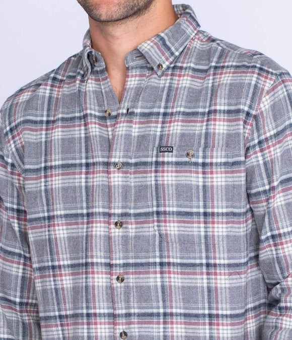 Southern Shirt Co. Kirkwood Heather Flannel