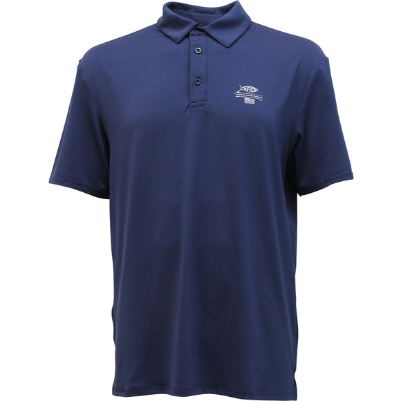 AFTCO Wellington Polo-Midnight