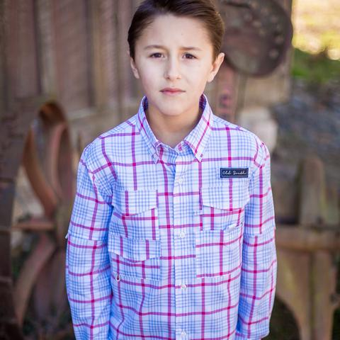 Old South Youth Boardwalk Button Down