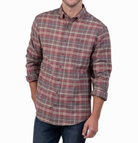 SSCO Collins Heather Flannel