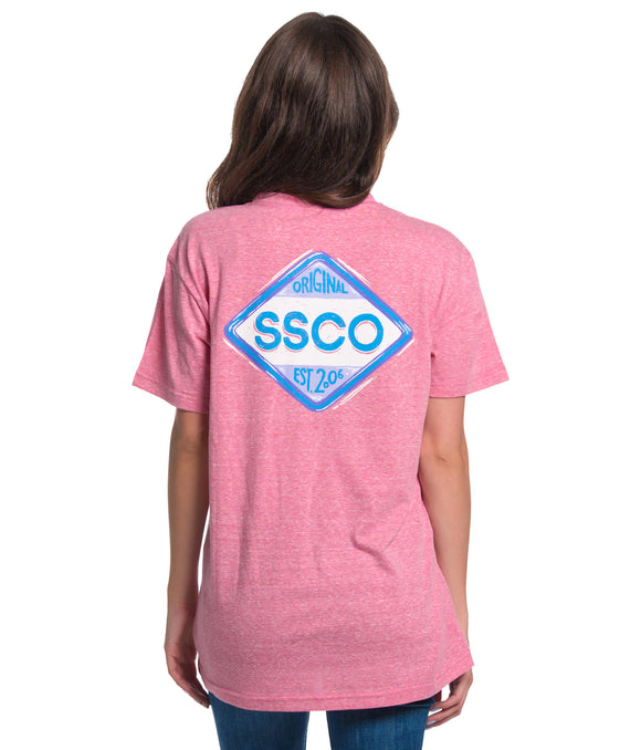 SSCO Diamond Logo V-Neck