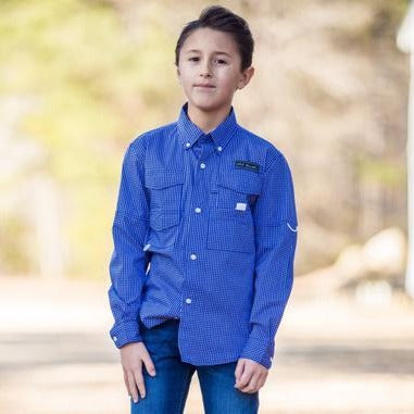 Old South Youth Marling Button Down