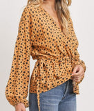 Sunset Mustard Top
