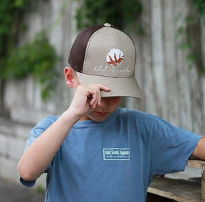 Old South Youth Cotton Trucker Hat