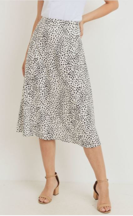 Run The Wild Midi Skirt