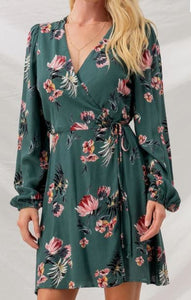 All The Floral Dress