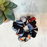 Sweet Floral Scrunchies