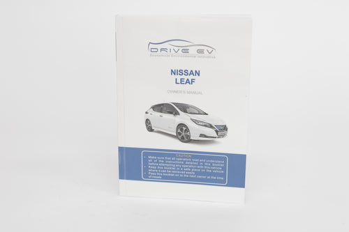 Nissan LEAF (ZE1) 40kWh English owners manual 2017-