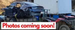 Lh rear door compete - 2016 Tesla S 75 - Grey