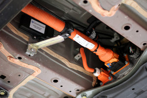 Nissan LEAF HV battery swap including translator (Allows the car to communicate with the new battery)
