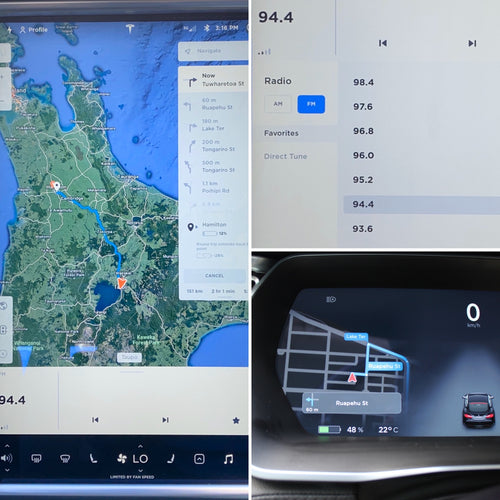 MC1 Navigation & Radio localisation upgrade for JDM Tesla S