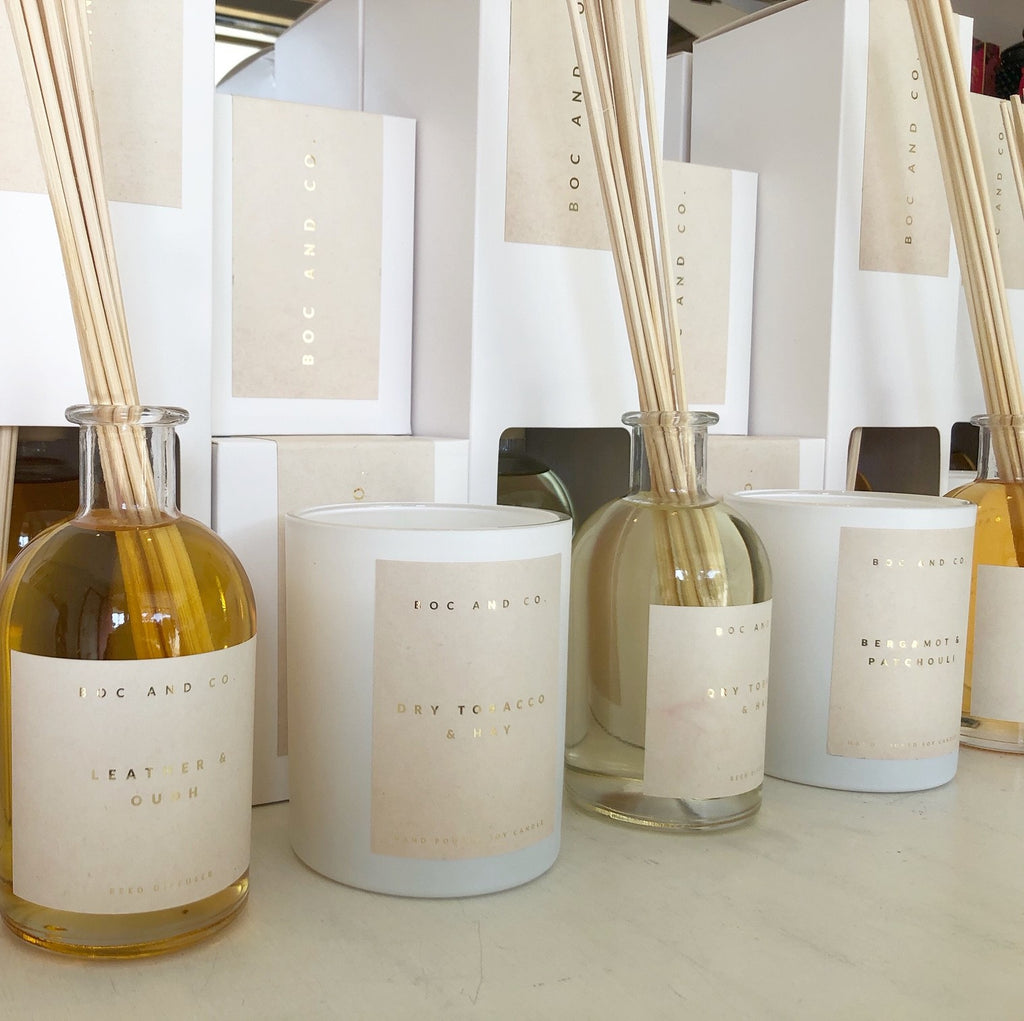Classic Reed Diffuser | Leather & Oudh