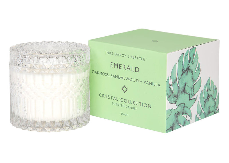 Crystal Candle | Large | EMERALD