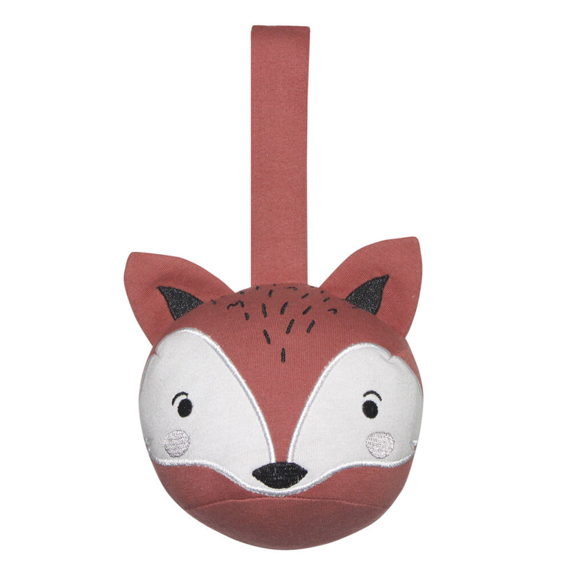 Ball Pram Rattle - Fox