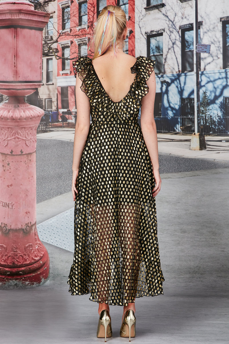 Good As Gold Maxi Dress