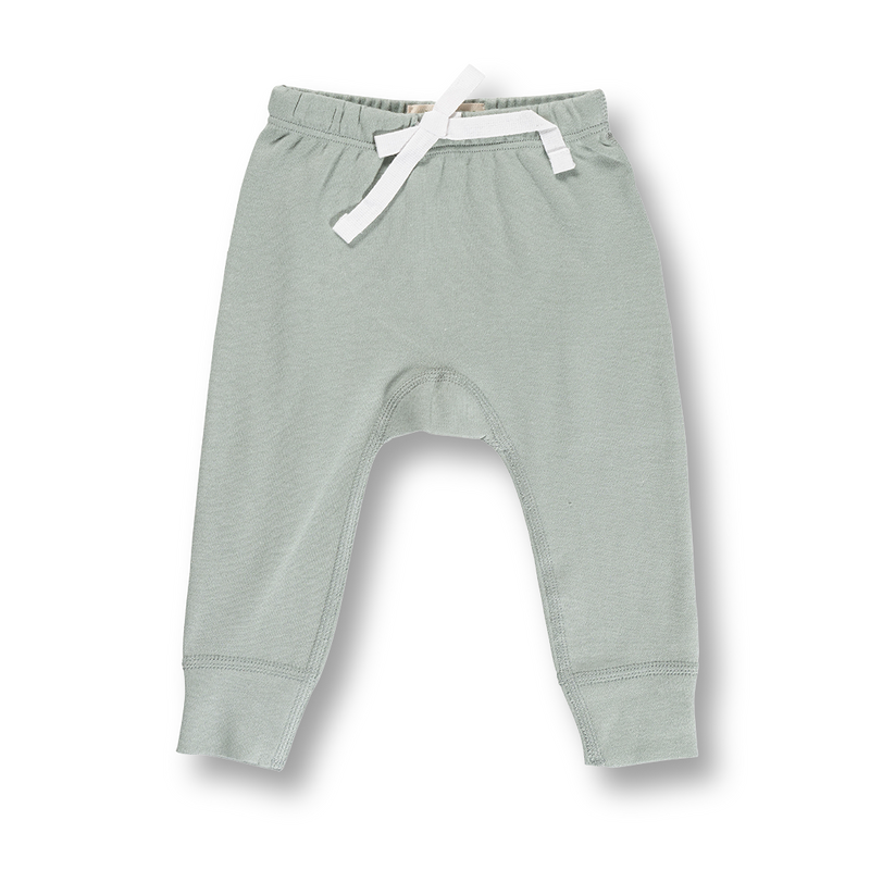 Heart Pants - Soft Grey