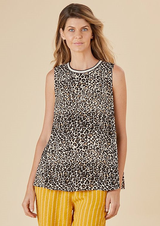 Leopard Love Print Top