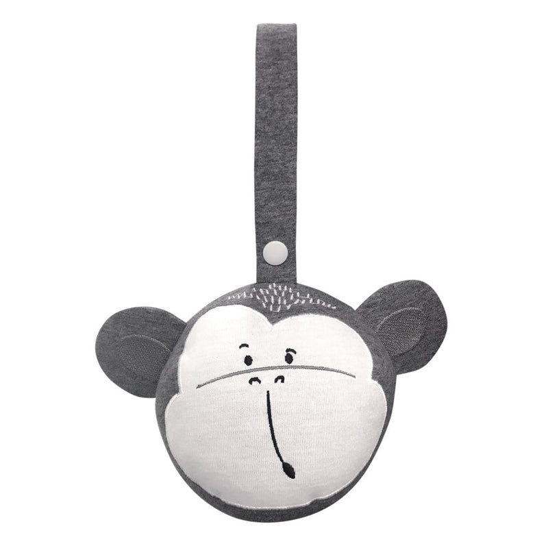 Ball Pram Rattle - Monkey