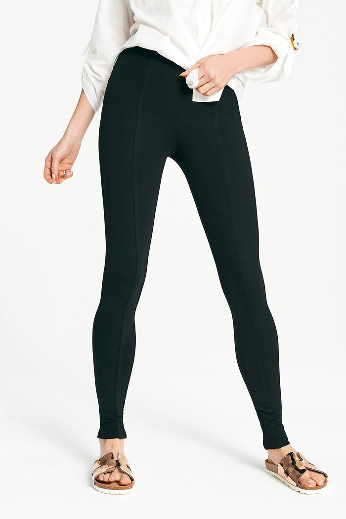 Ponte Pocket Pant - Black