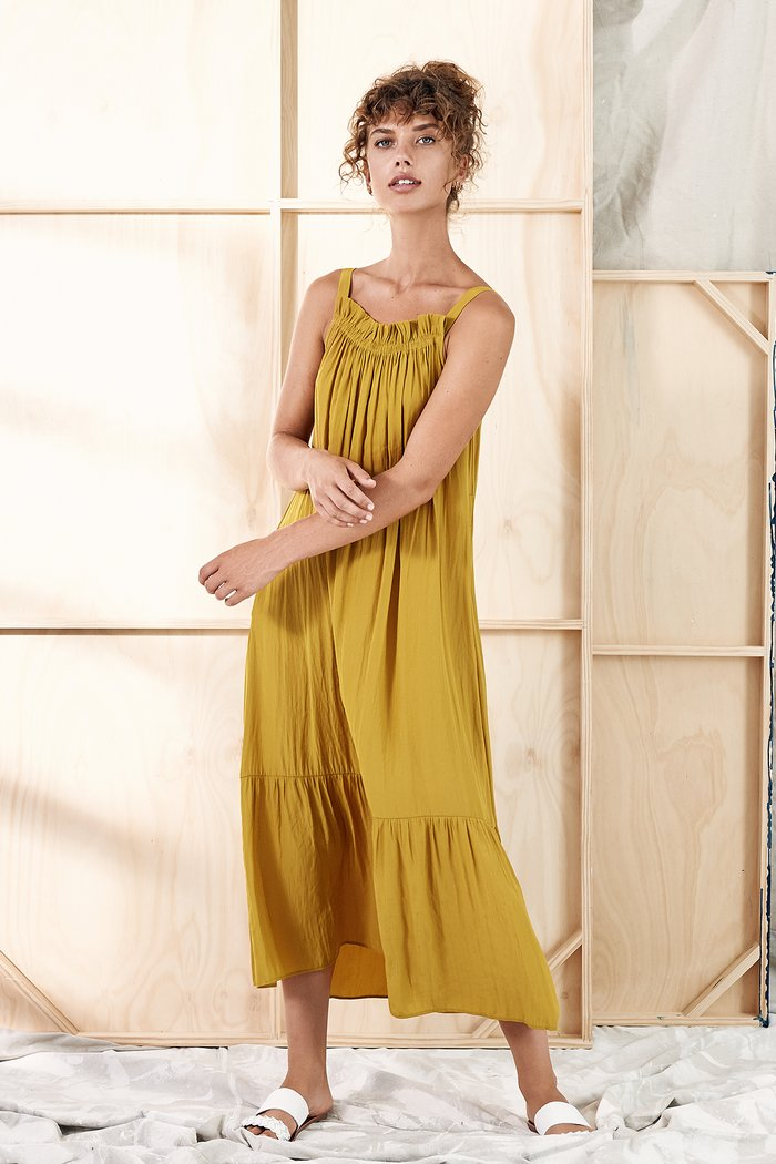 Hela Dress - Tuscan Sun