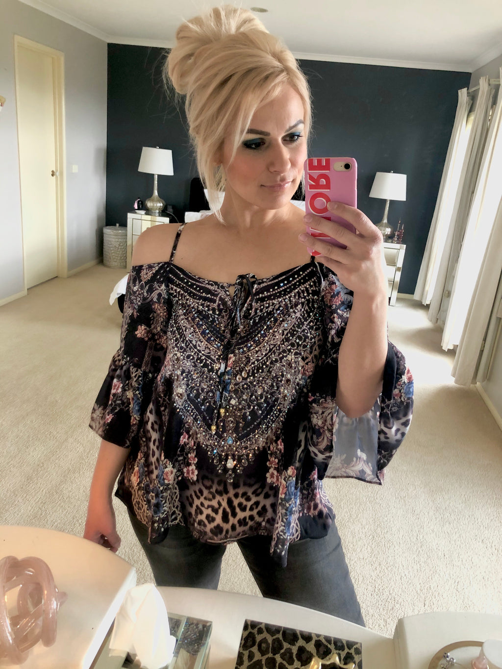 Cleo Embellished Top