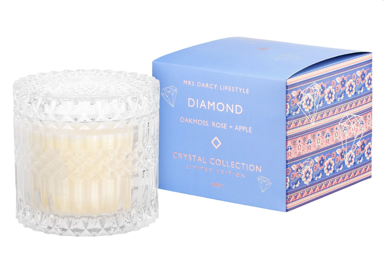 Crystal Candle | Large | DIAMOND