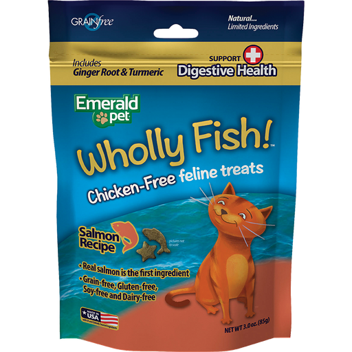 Wholly Fish Digestive Health Salmon