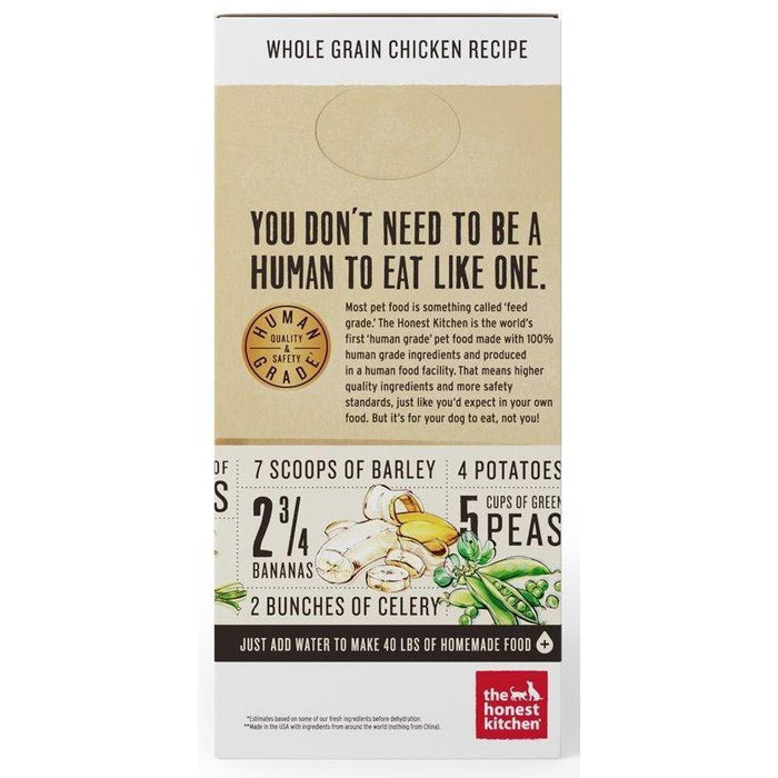 honest kitchen whole grain chicken recipe